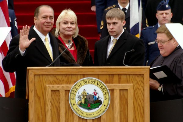 Gov. Tomblin Sworn in to Office